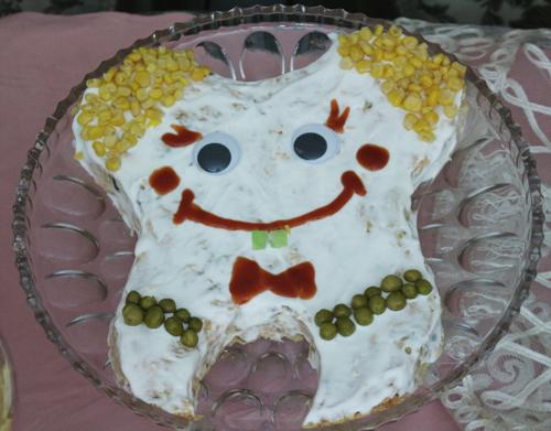 تزئینات جشن دندونی الویه دندان