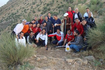 کوهپیمایی دراگ شیراز 21اردی بهشت 94