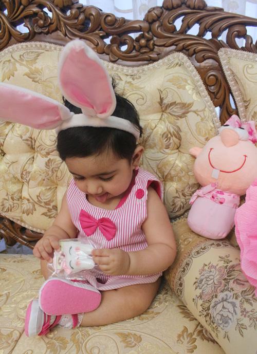 تم خرگوش کوچولو و جشن دندونی حلما و عروسک دندونی فرشته دندون happy first tooth