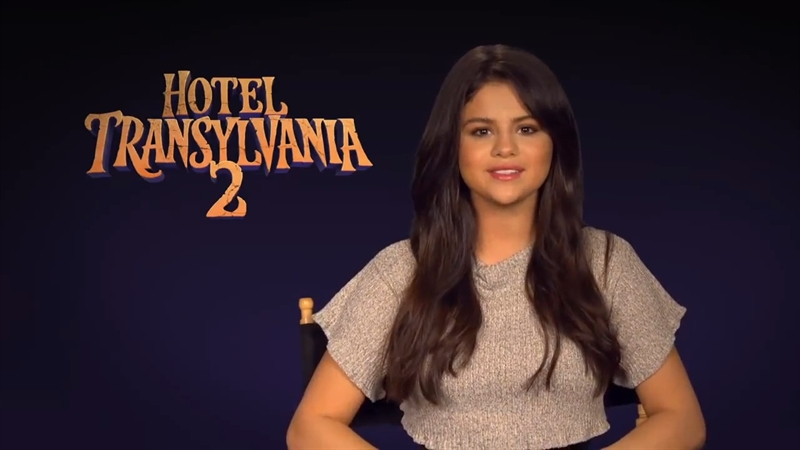 دانلود ویدیو کوتاه سلنا گومز راجب هتل ترانسیلوانیای 2