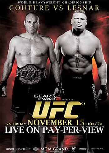 دانلود یو اف سی 91 | UFC 91: Couture vs. Lesnar
