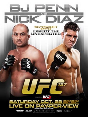 دانلود یو اف سی 137 | UFC 137: Penn vs. Diaz