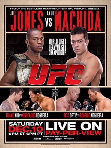 دانلود یو اف سی 140 | UFC 140: Machida vs. Jones