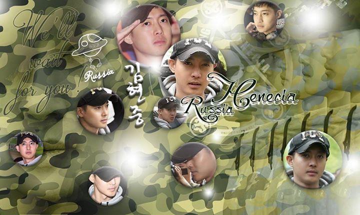 Fan Art ~ Kim Hyun Joong For Military Service