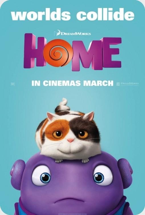انیمیشن Home 2015