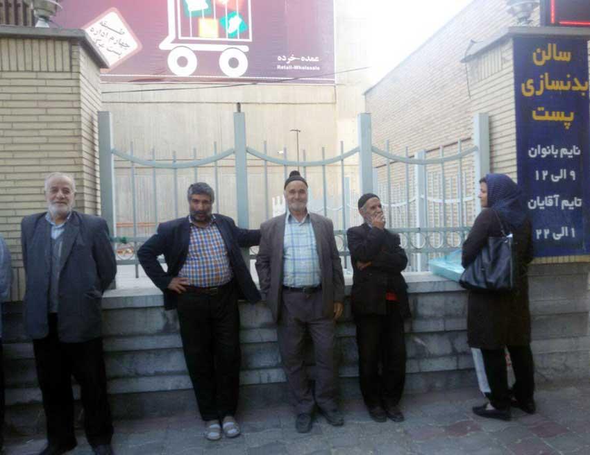 اهالی قاضی جهان برای استقبال از رییس جمهوری به تبریز شتافتند