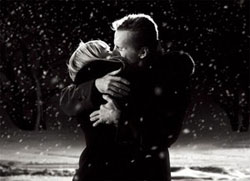 عکس عاشقانه دونفره در برف