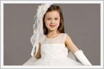 مدل های جدید و قشنگ لباس عروس بچه گانه