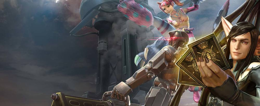 vainglory 1.4 update hero skins