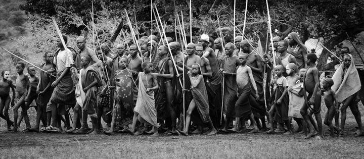 """قوم بدوی """"دونگا"""" در آفريقا"""