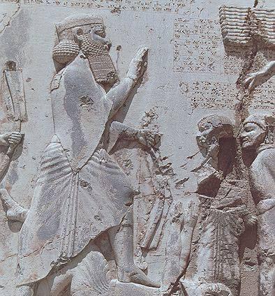 داريوش بزرگ و سركوبی شورشها