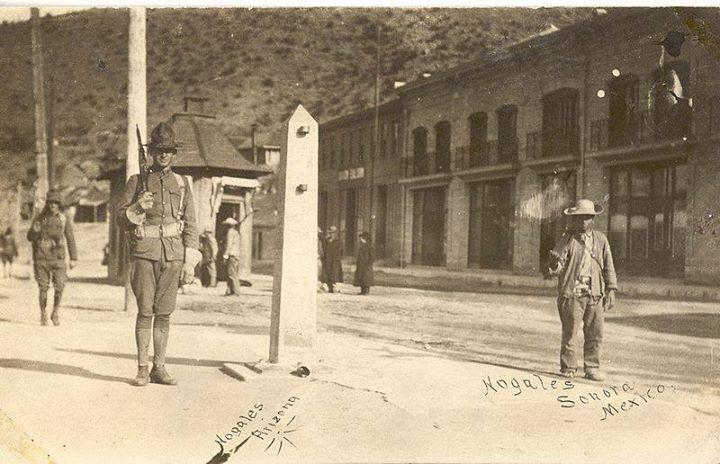 عكس تاريخی نایاب از مرز آمريكا و مکزیک