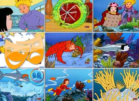 کارتون سفرهای علمی به زبان اصلی