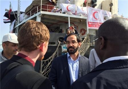 کشتی کمکهای انسان دوستانه ایران به سوی یمن