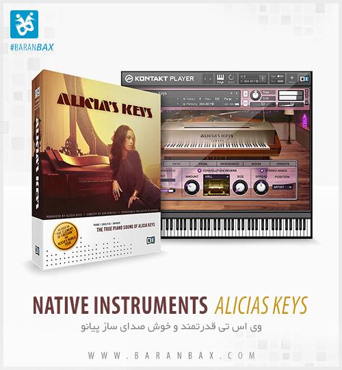 دانلود وی اس تی پیانو Native Instruments Alicias Keys