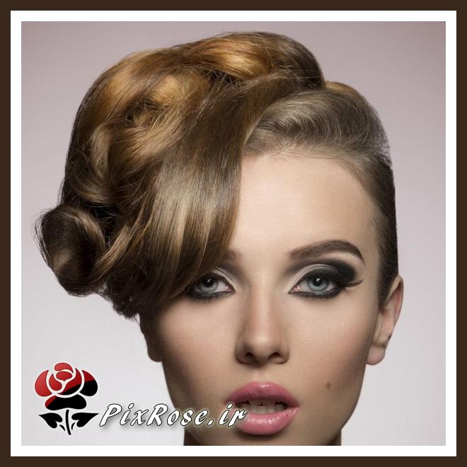 شینیون موی کلاسیک