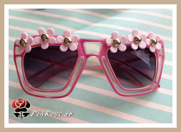 مدل عینک دخترانه آفتابی