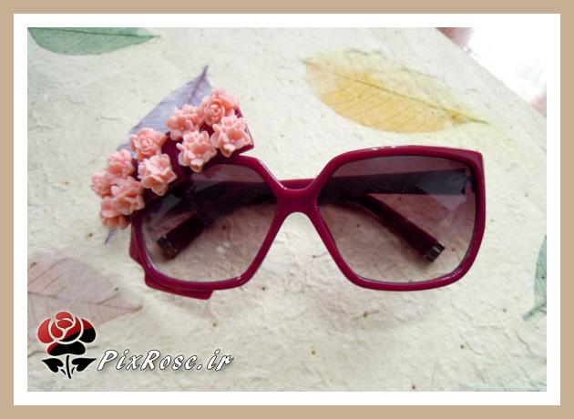عینک آقتابی دخترانه