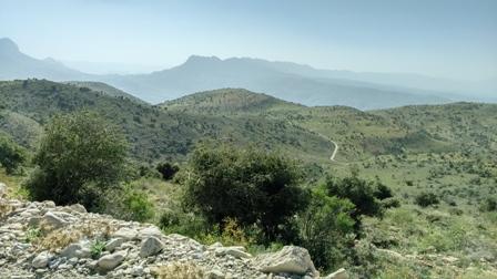 سرحد کوه بیل - ارتفاعات آبریز شمال غربی