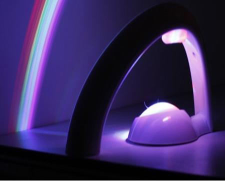 چراغ خواب رنگین کمان قابلیت تعویض طیف رنگ