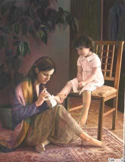 شعر آنا-شعری در مورد مادر