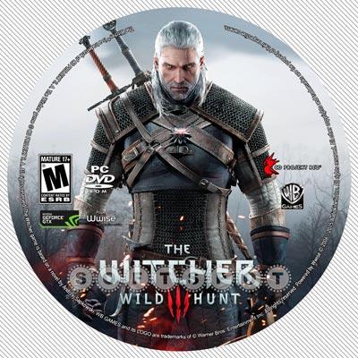لیبلدیسک The Witcher 3