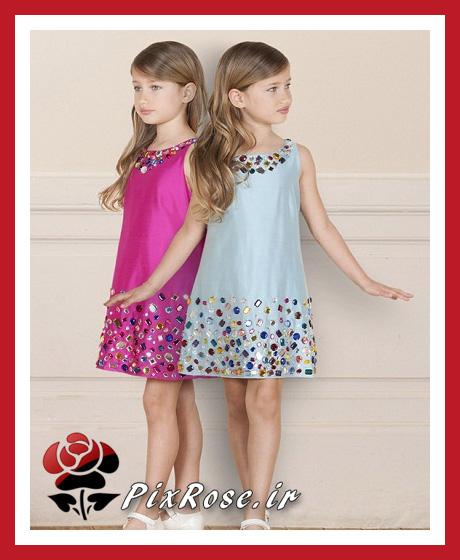 مدل لباس برای دختربچه های زیر 10 سال