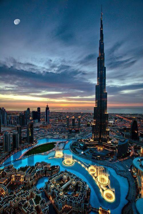برج خلیفه. بلندترین برج جهان