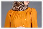 بلوز زنانه رنگ زرد و نارنجی