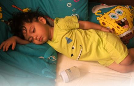 کیان کوچولو در خواب 12