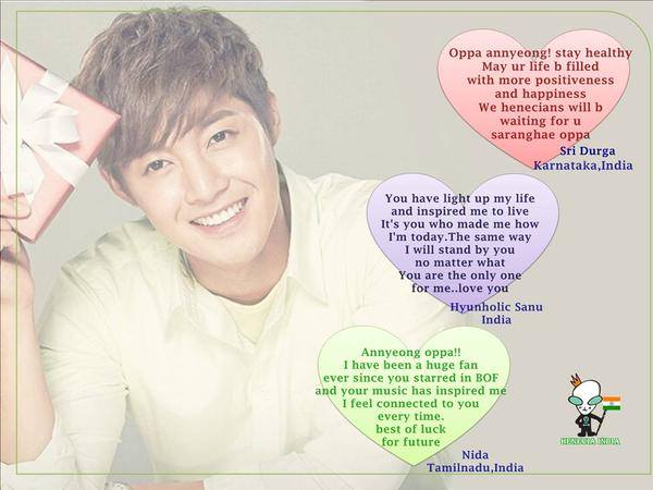 Henecia India - Birthday Wishes That We Have Sent To Jaskal,Ilsan