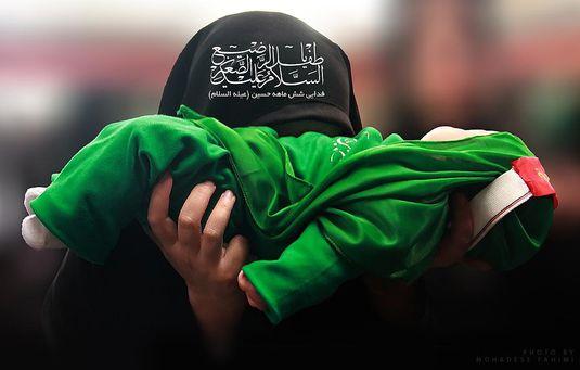 متن روضه حضرت علی اصغر علیه السلام شب هفتم محرم حاج محمود كریمی
