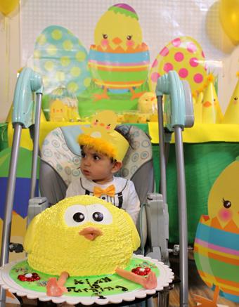کیان در جشن تولد یکسالگی