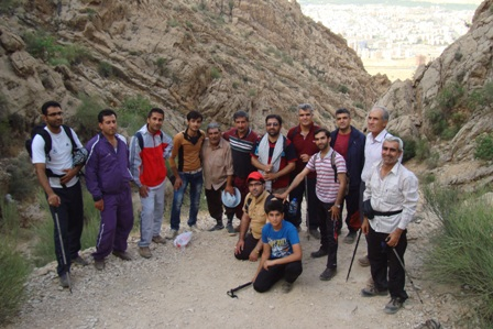کوهپیمایی هفتگی در کوه دراگ 18خرداد94