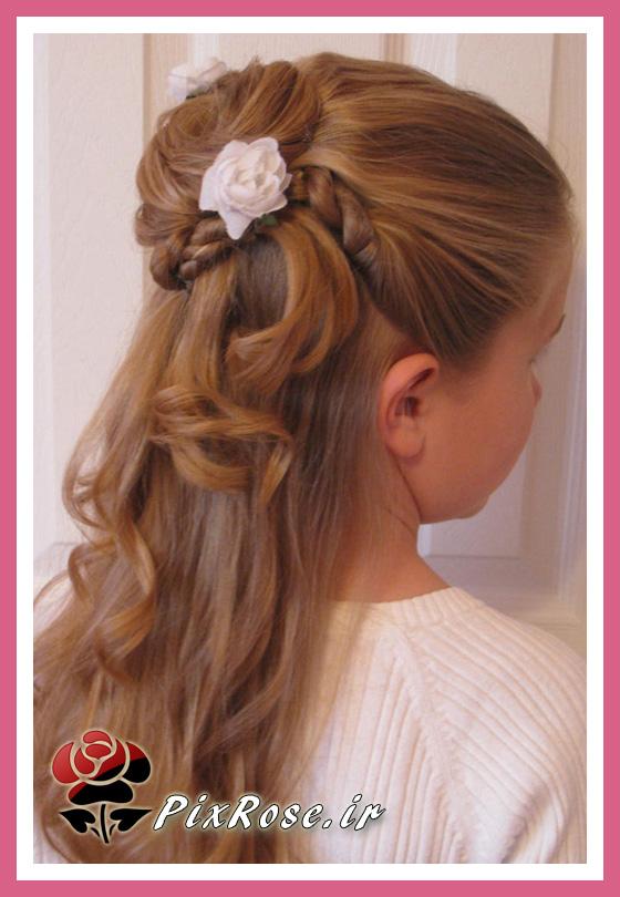 شینیون جلوی سر آرایش مو برای خانم های جوان