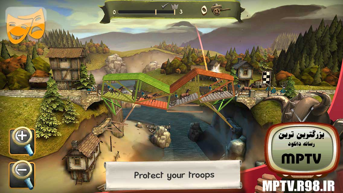 دانلود رایگان بازی پل سازی برای اندروید نسخه اصلی