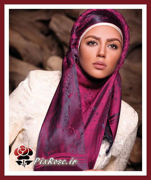 مدل  های بستن شال و روسری