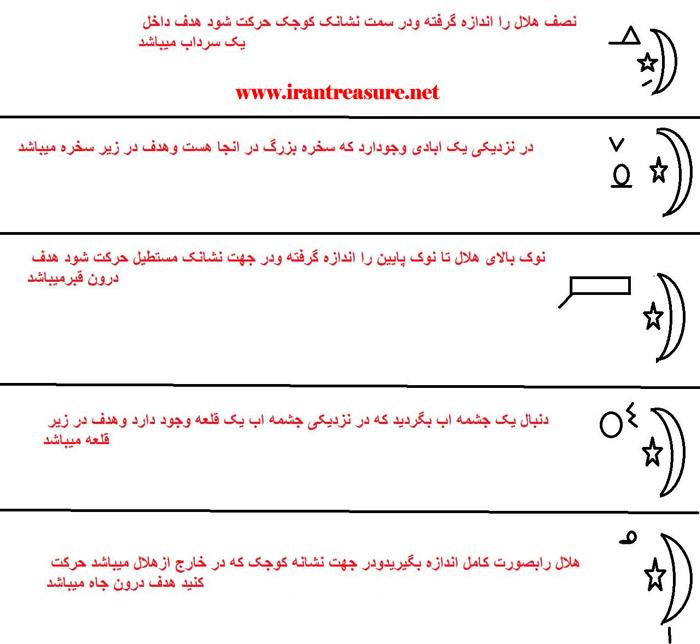 h3 هلال ماه در گنج یابی(عکس)آموزشی!!