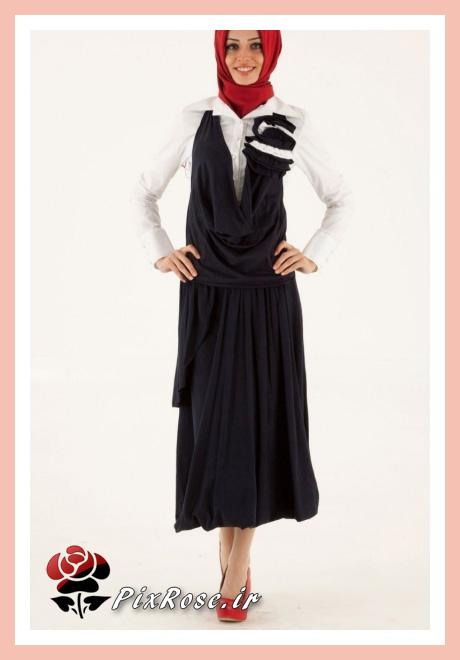 مدل لباس مجلسی پوشیده دختارنه