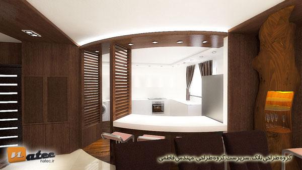 طراحی دکوراسیون آشپزخانه در اصفهان