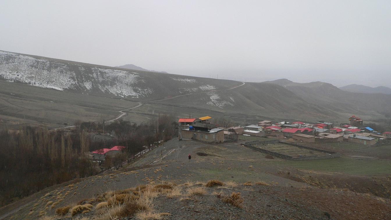 گزارش تصویری از روستای زیبای برف ریز