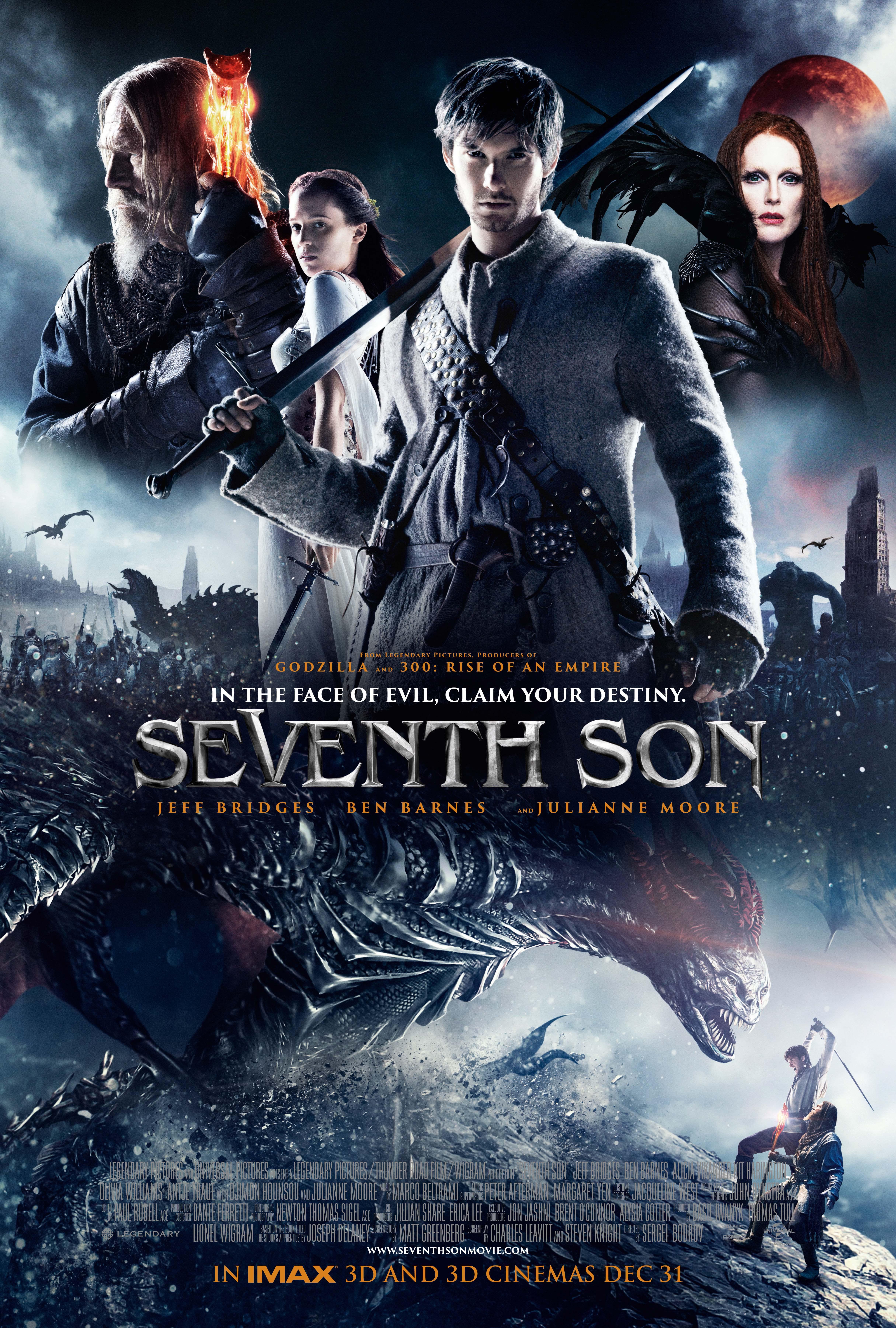 دانلود فیلم سه بعدی Seventh Son 3D 2014