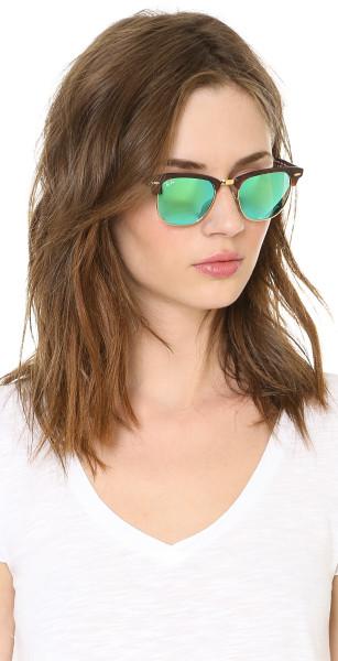 عینک کلاب مستر ریبن جدید شیشه سبز
