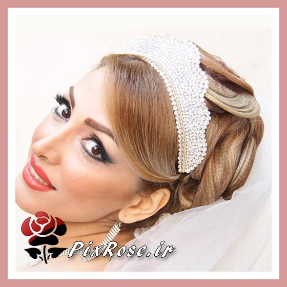 عروس ایرانی با تاج