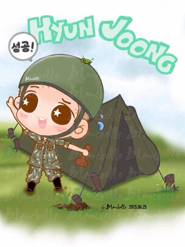 Hyun Joong Fan Art 15.06.25