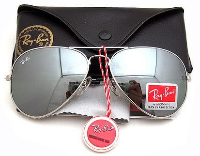 عینک آفتابی شیشه جیوه های ریبن
