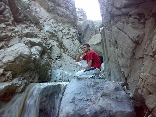 شهید محمّد علی دولت آبادی،کوههای شملق سبزوار