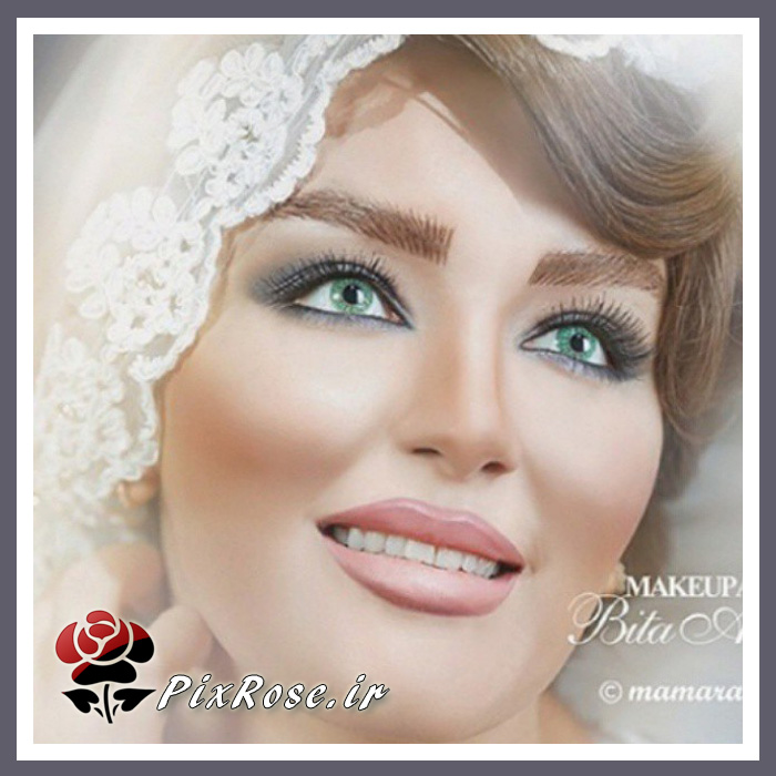 مدل های میکاپ عروس 94