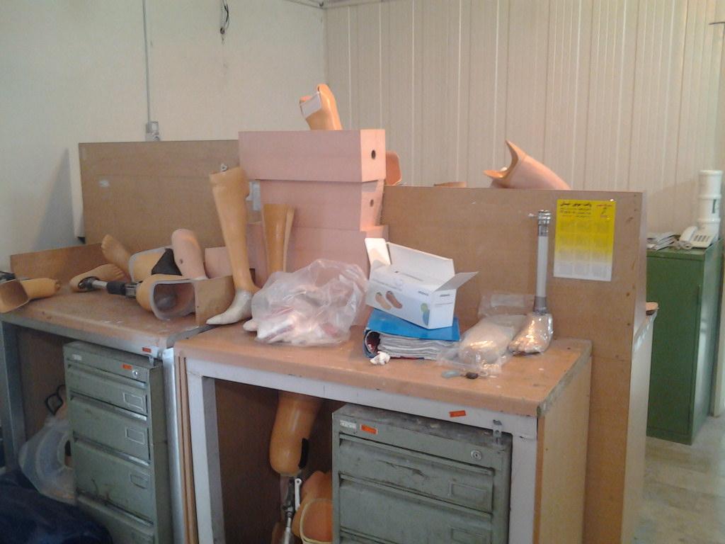 کارگاه ساخت اورتز و پروتز