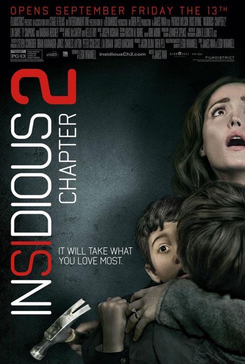 دانلود دوبله ی فارسی فیلم Insidious: Chapter 2 2013